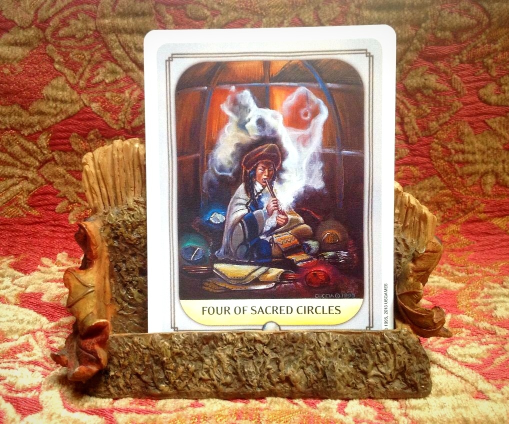A Business Card Holder for Your Card Altar