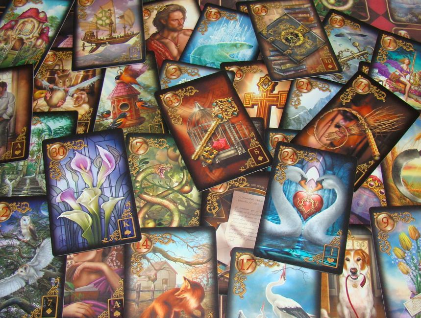 Meet Ciro Marchetti S Gilded Reverie Lenormand A Review